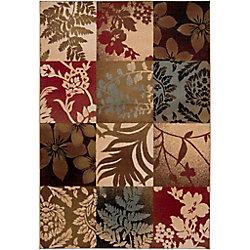 Artistic Weavers Carpette d'intérieur, 5 pi 3 po x 73 pi 6 po, style transitionnel, rectangulaire, brun Abbotsford