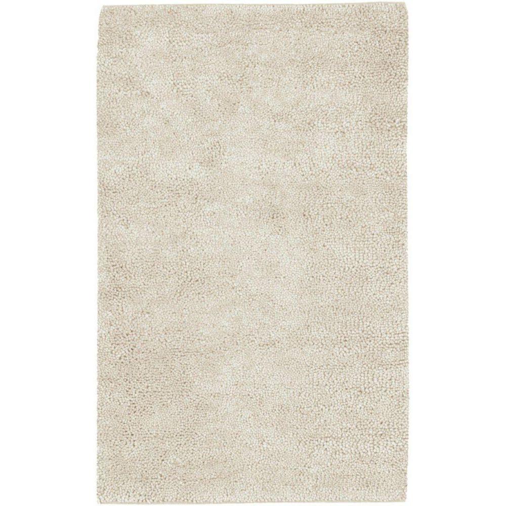 Adelanto Ivory New Zealand Felted Wool 9 Ft. x 13 Ft. Area Rug Adelanto-913 Canada Discount