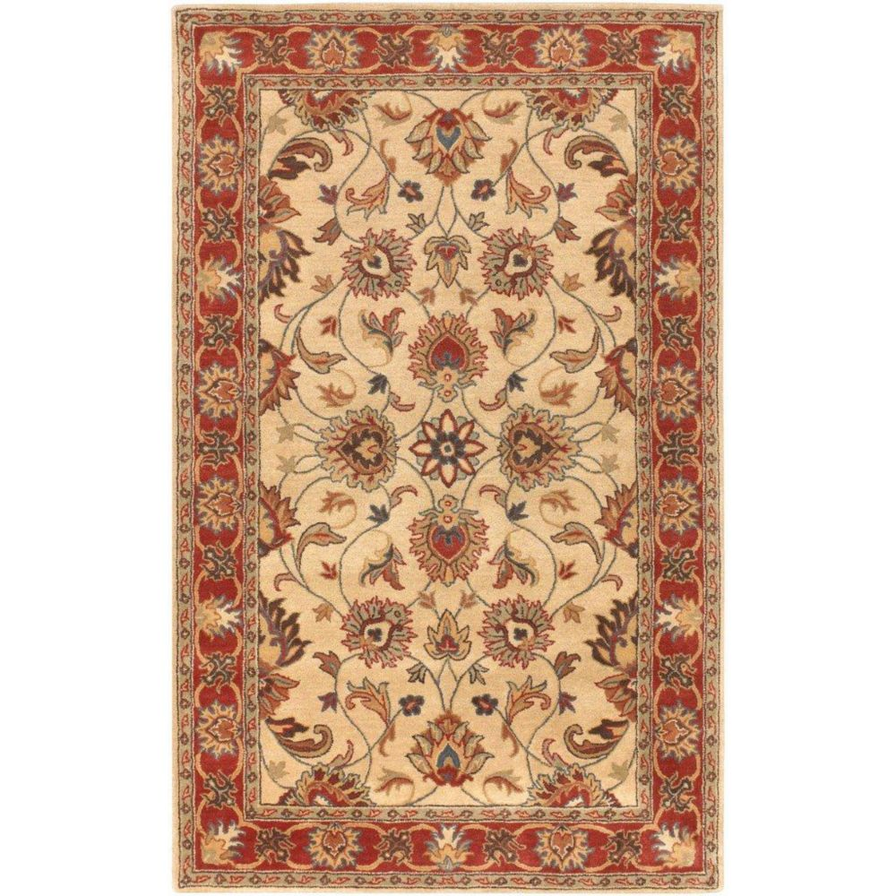 Belmont Beige Wool  - 7 Ft. 6 In. x 9 Ft. 6 In. Area Rug