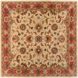 Artistic Weavers Belmont Beige Tan 8 ft. x 8 ft. Indoor Traditional Square Area Rug