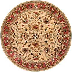 Artistic Weavers Belmont Beige Tan 9 ft. 9-inch x 9 ft. 9-inch Indoor Traditional Round Area Rug