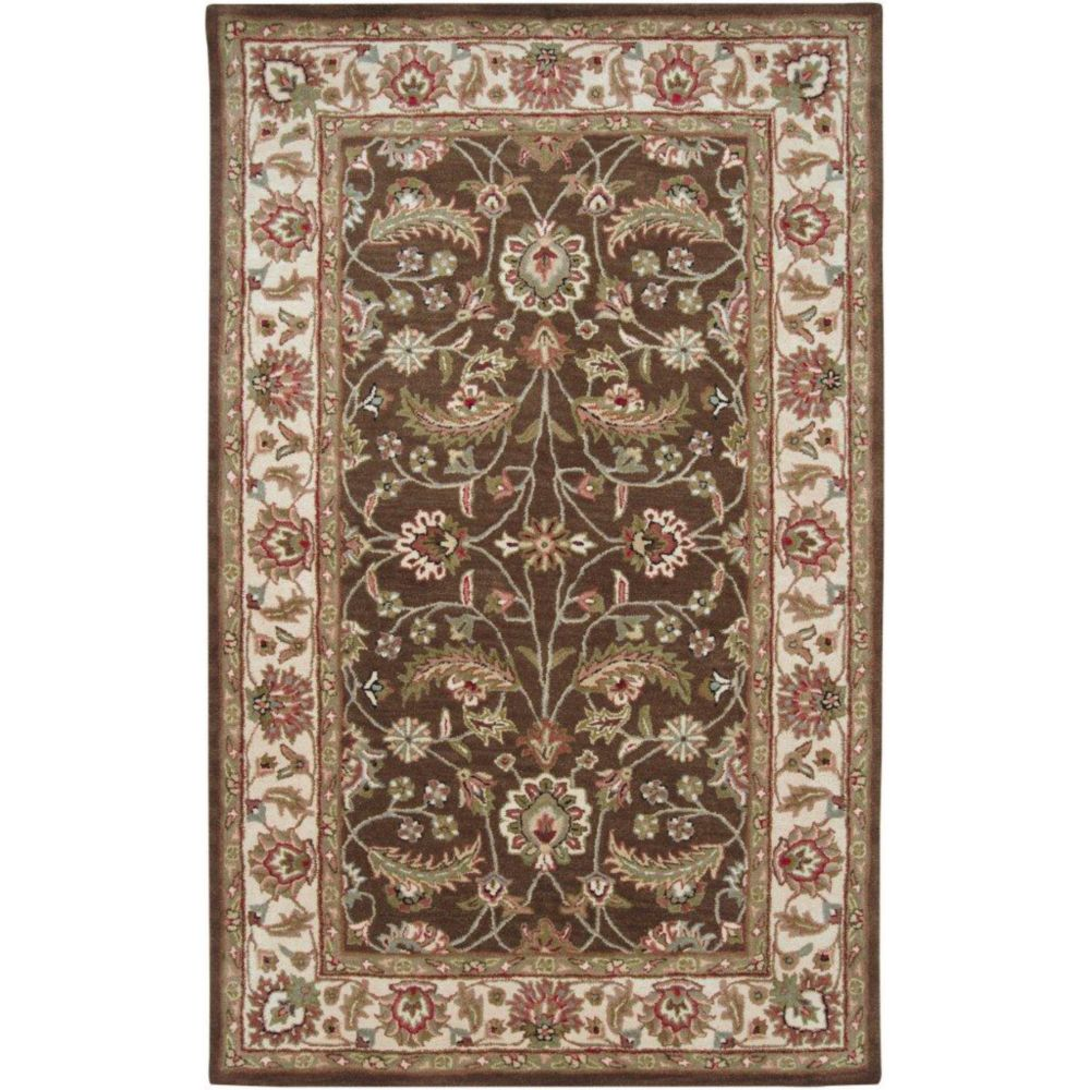 Artistic Weavers Anderson Black Wool Hearth Accent Rug 2 Ft X 4 Ft Area Rug The Home Depot