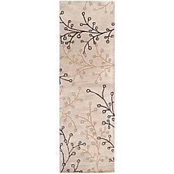 Artistic Weavers Tapis de passage d'intérieur, 3 pi x 12 pi, style transitionnel, blanc cassé Anaheim