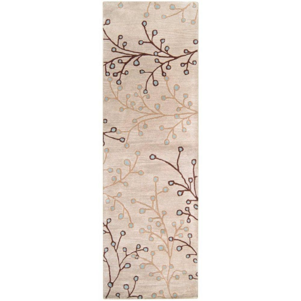 Artistic Weavers Anaheim Off-White 3 ft. x 12 ft. Indoor Transitional Runner