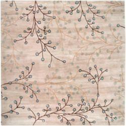 Artistic Weavers Carpette d'intérieur, 4 pi x 4 pi, style transitionnel, carrée, havane Anaheim