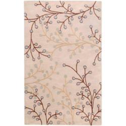 Artistic Weavers Carpette d'intérieur, 5 pi x 8 pi, style transitionnel, rectangulaire, havane Anaheim