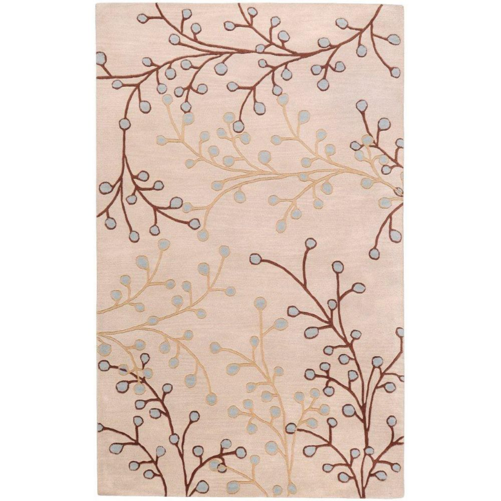 Anaheim Ivory Wool 7 Ft. 6 In. x 9 Ft. 6 In. Area Rug
