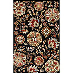 Artistic Weavers Anderson Black 6 ft. x 9 ft. Indoor Transitional Rectangular Area Rug