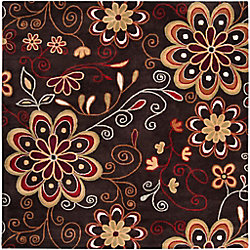 Artistic Weavers Arcadia Brown 6 ft. x 6 ft. Indoor Transitional Square Area Rug