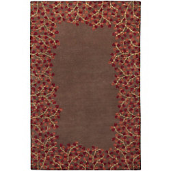 Artistic Weavers Carpette, 10 pi x 14 pi, style transitionnel, rectangulaire, brun Alturas