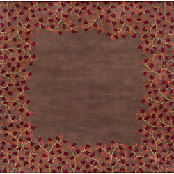 Artistic Weavers Alturas Brown 4 ft. x 4 ft. Indoor Transitional Square Area Rug
