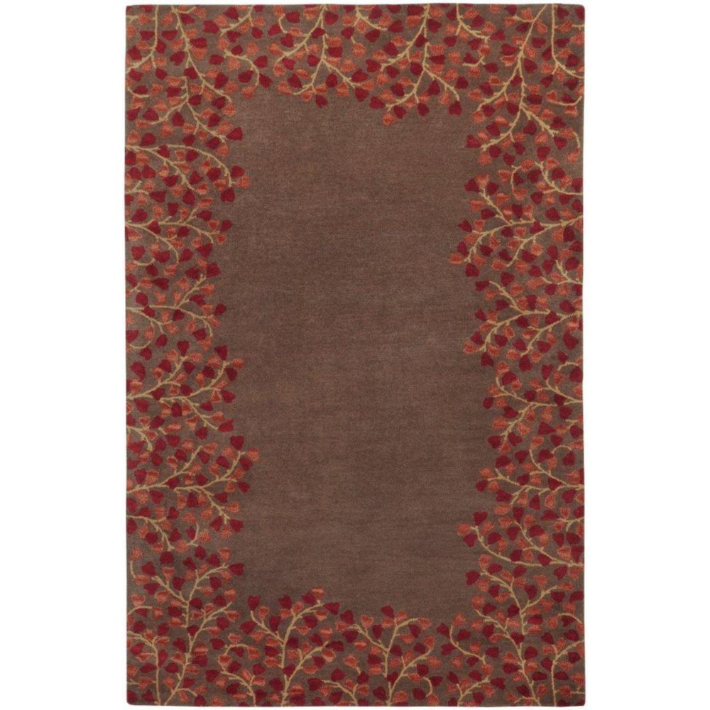 Alturas Chocolate Wool 7 Ft. 6 In. x 9 Ft. 6 In. Area Rug