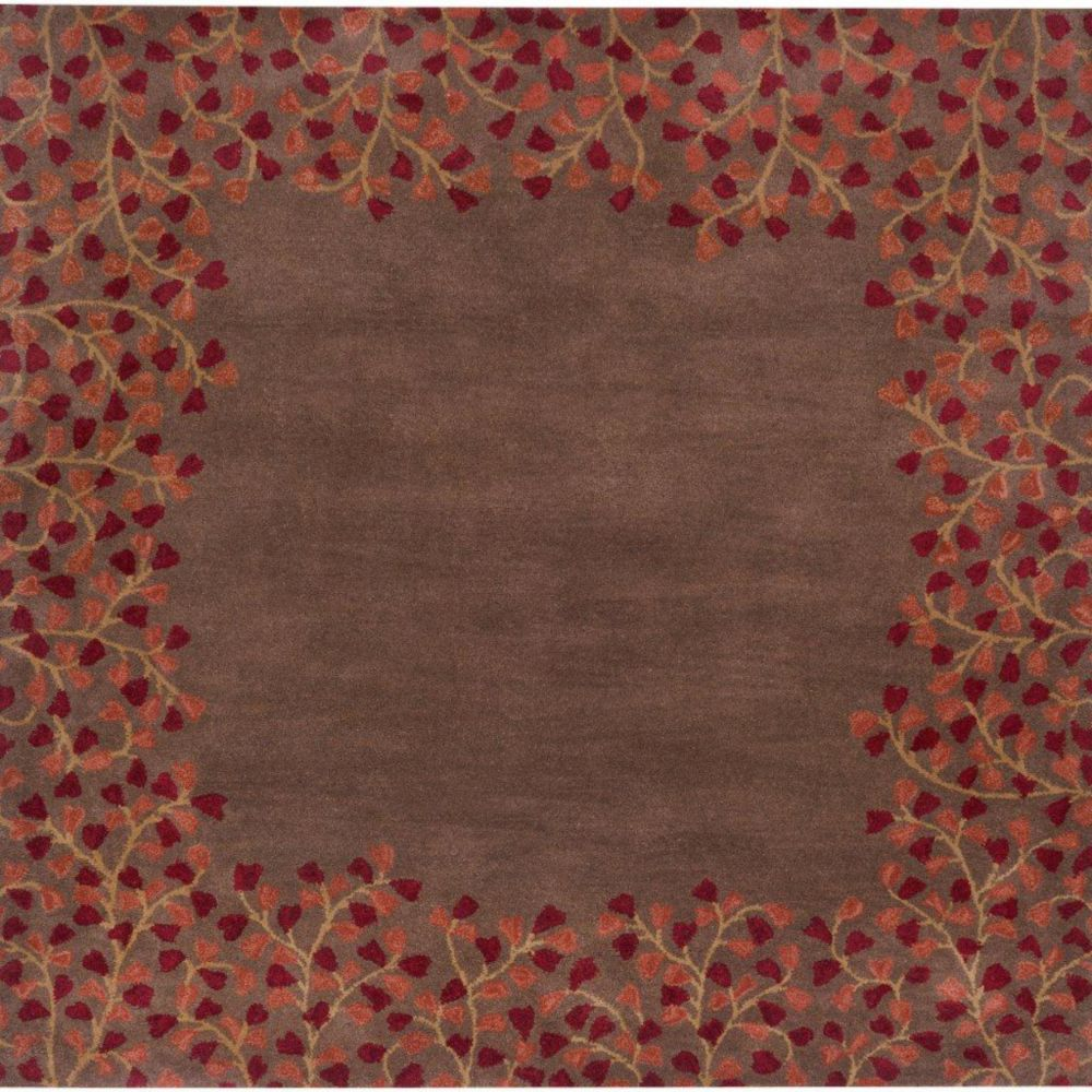 Alturas Chocolate Wool 9 Feet x 9 Feet Square Area Rug Alturas-99SQ in Canada