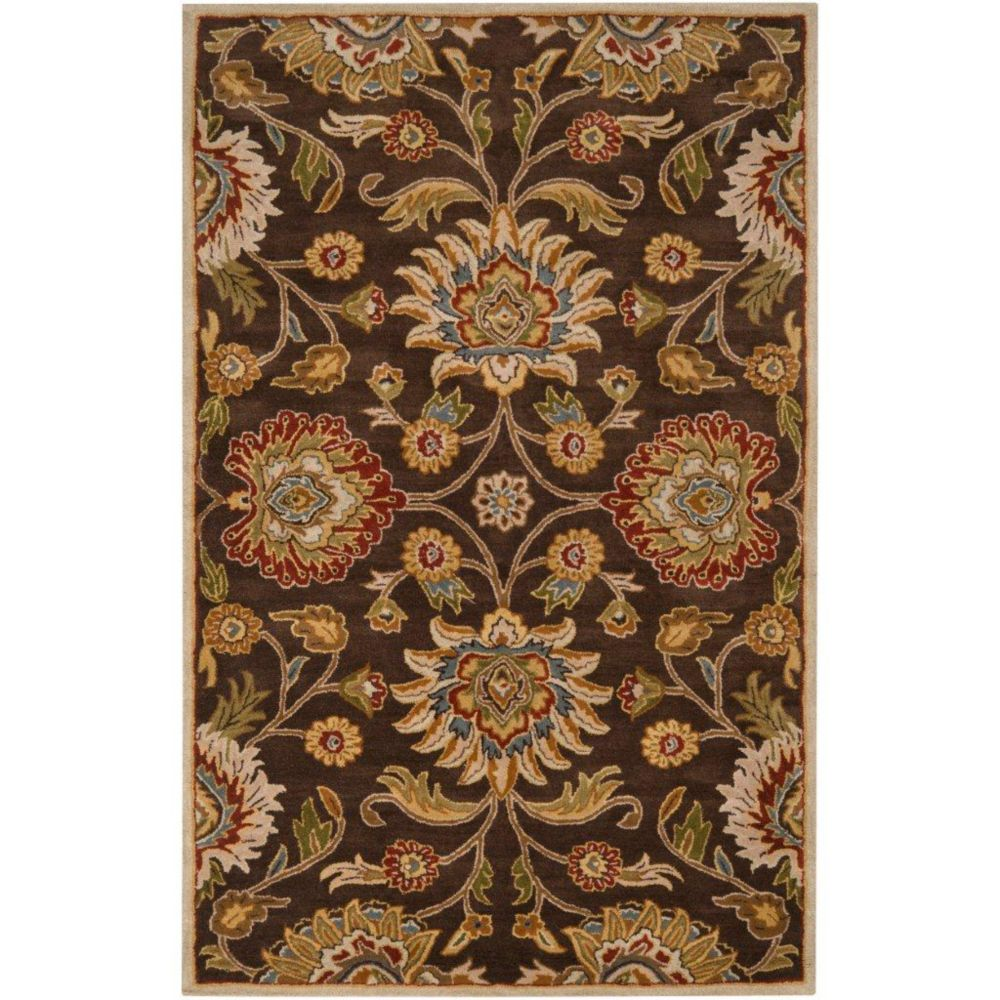 Dachstein Chocolate Wool  - 7 Ft. 6 In. x 9 Ft. 6 In. Area Rug