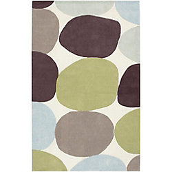 Artistic Weavers Falleron Brown 3 ft. 6-inch x 5 ft. 6-inch Indoor Transitional Rectangular Area Rug