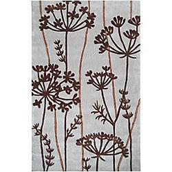 Artistic Weavers Carpette d'intérieur, 2 pi x 3 pi, style transitionnel, rectangulaire, brun Gael