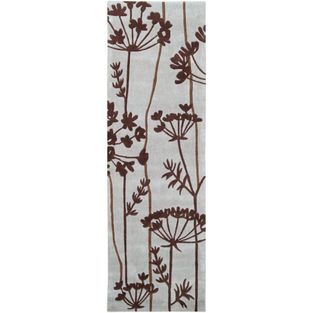 Artistic Weavers Gael Brown 2 ft. 6-inch x 8 ft. Indoor Transitional Runner