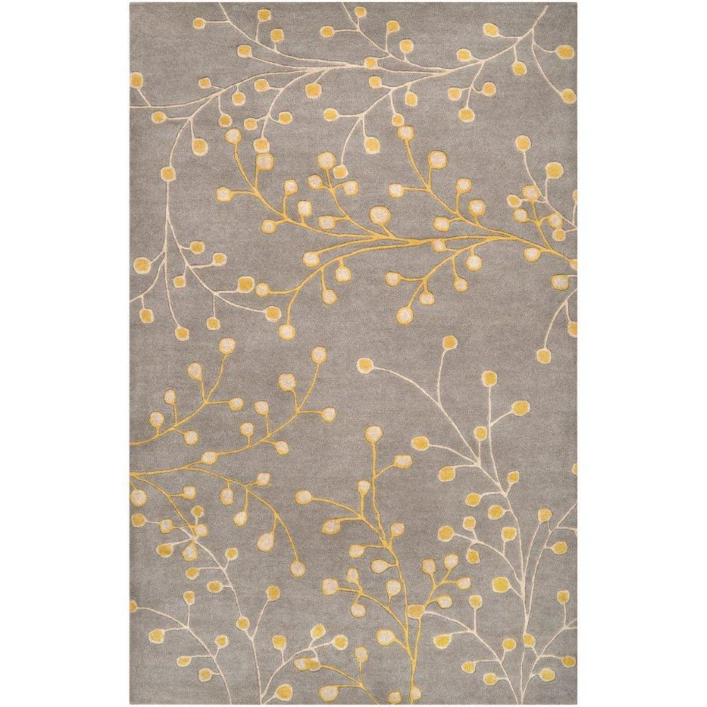 Arroyo Gray Wool 5 Ft. x 8 Ft. Area Rug