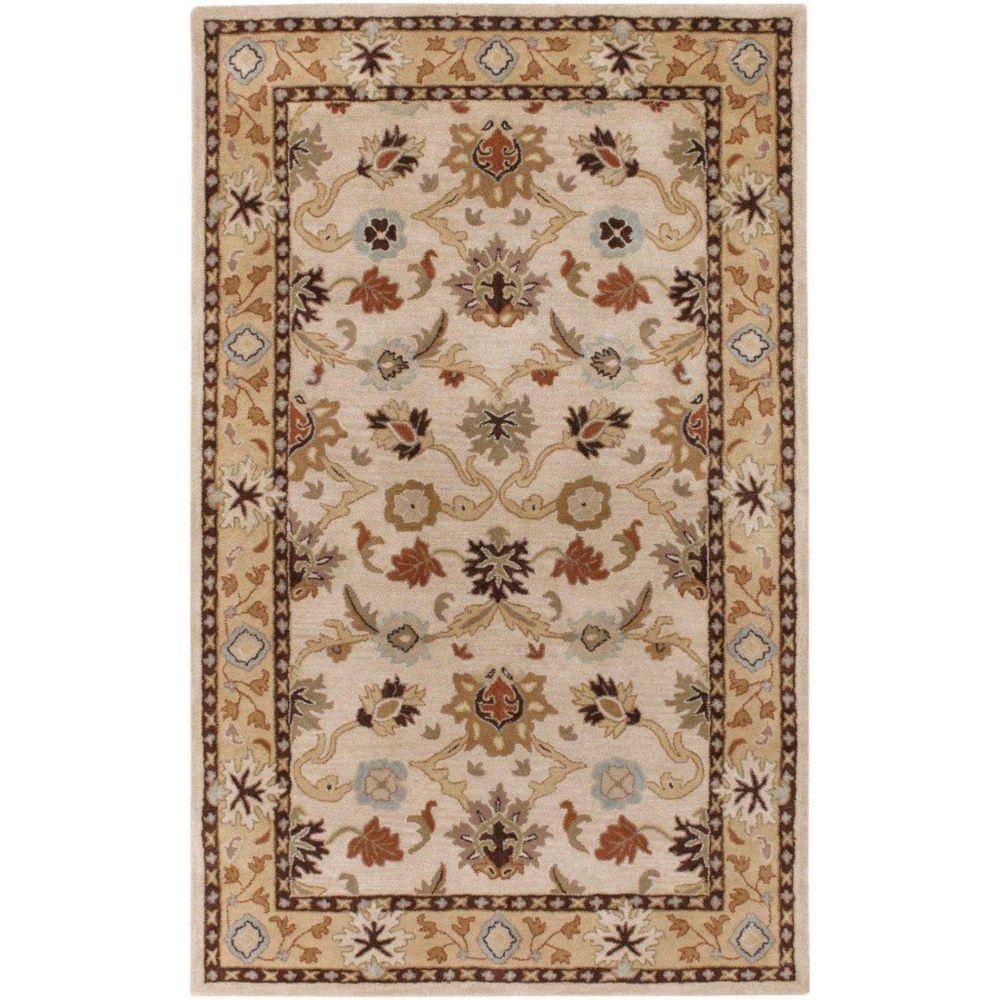 Artistic Weavers Brea Beige Tan 12 ft. x 15 ft. Indoor Traditional Rectangular Area Rug