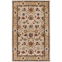 Artistic Weavers Carpette d'intérieur, 6 pi x 9 pi, style transitionnel, rectangulaire, havane Brea