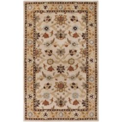 Artistic Weavers Brea Beige Tan 6 ft. x 9 ft. Indoor Transitional Rectangular Area Rug