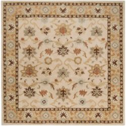 Artistic Weavers Brea Beige Tan 6 ft. x 6 ft. Indoor Traditional Square Area Rug
