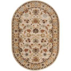 Artistic Weavers Carpette, 8 pi x 10 pi, ovale, beige John