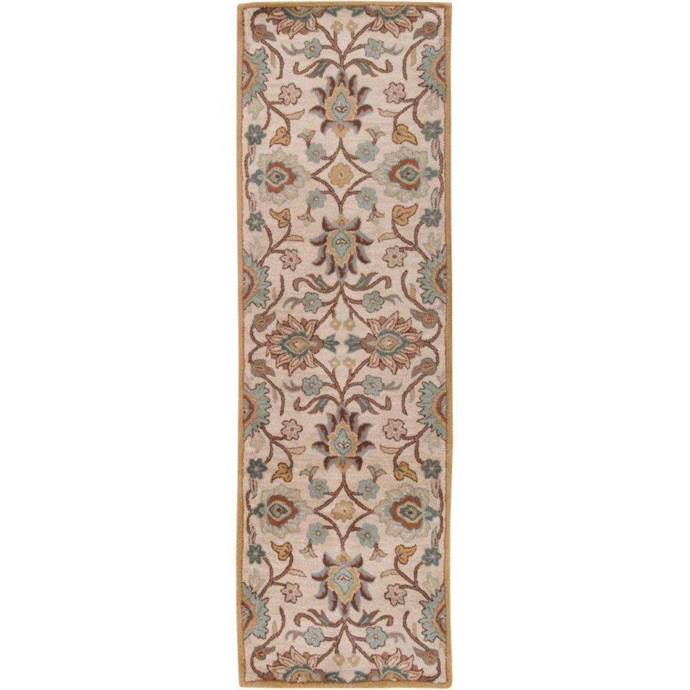 Artistic Weavers Brentwood Grey 2 ft. 6-inch x 8 ft. Indoor Transitional Runner