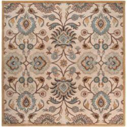 Artistic Weavers Carpette d'intérieur, 6 pi x 6 pi, style transitionnel, carrée, havane Brentwood