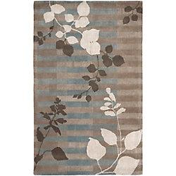 Artistic Weavers Carpette d'intérieur, 2 pi x 3 pi, style transitionnel, rectangulaire, gris Nelson