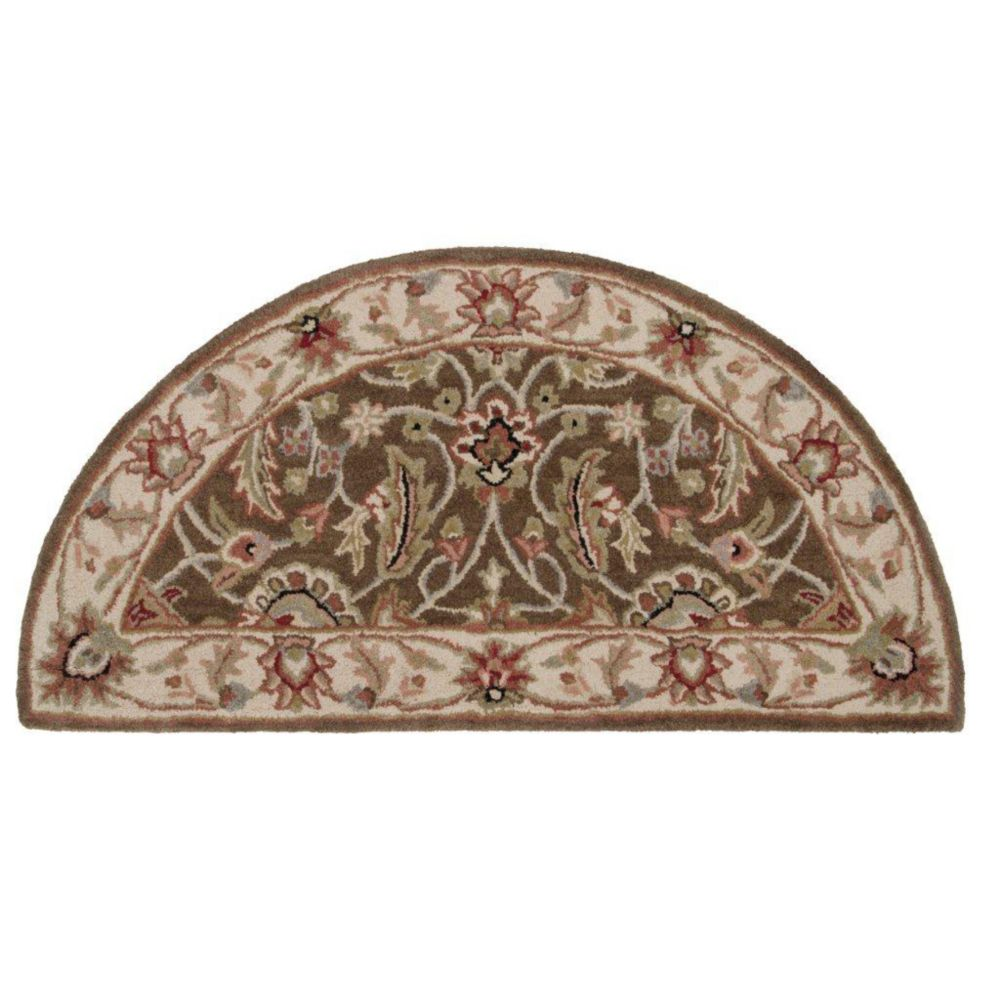 Belvedere Forest Woolt Hearth Accent Rug - 2 Ft. x 4 Ft. Area Rug