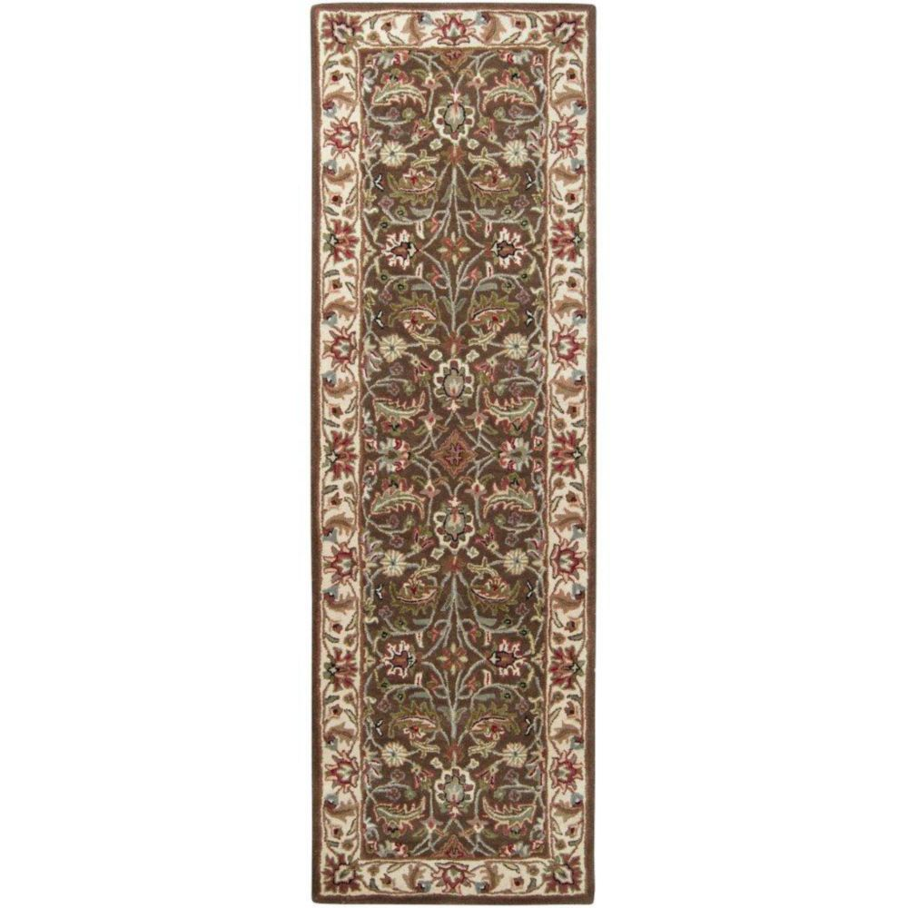 Belvedere Forest Wool Runner - 2 Ft. 6 In. x 8 Ft. Area Rug