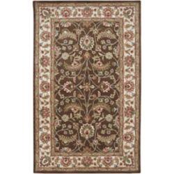 Artistic Weavers Belvedere Brown 8 ft. x 11 ft. Indoor Traditional Rectangular Area Rug