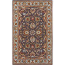 Artistic Weavers Carpette d'intérieur, 12 pi x 15 pi, style traditionnel, rectangulaire, bleu Benicia