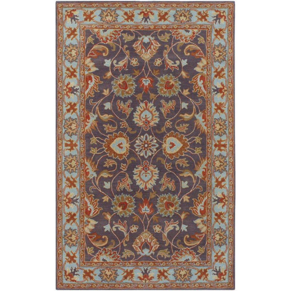 Benicia Charcoal Wool  - 7 Ft. 6 In. x 9 Ft. 6 In. Area Rug