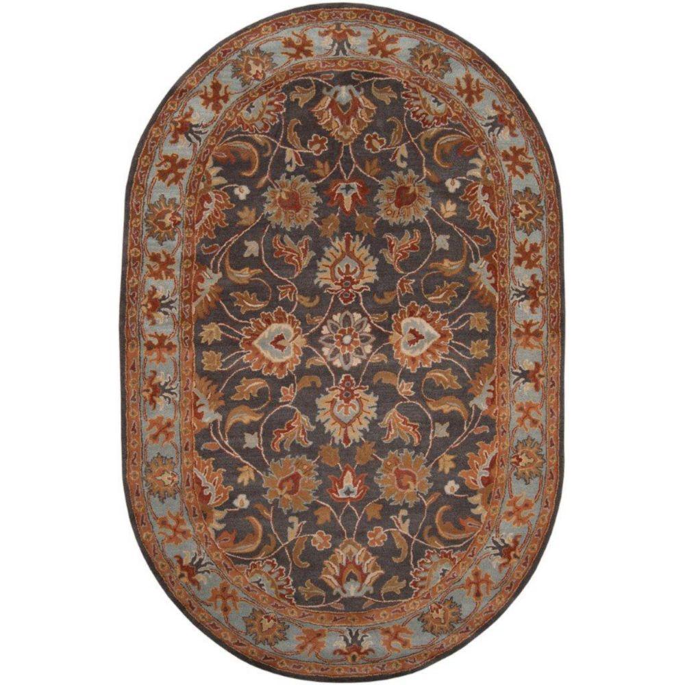 Artistic Weavers Benicia Grey 8 Ft. X 10 Ft. Indoor
