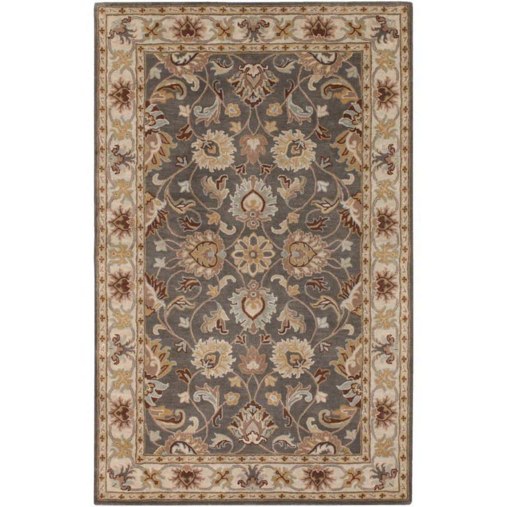 Berkeley Charcoal Wool Accent Rug - 2 Ft. x 3 Ft. Area Rug