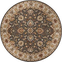 Artistic Weavers Berkeley Beige Tan 4 ft. x 4 ft. Indoor Traditional Round Area Rug