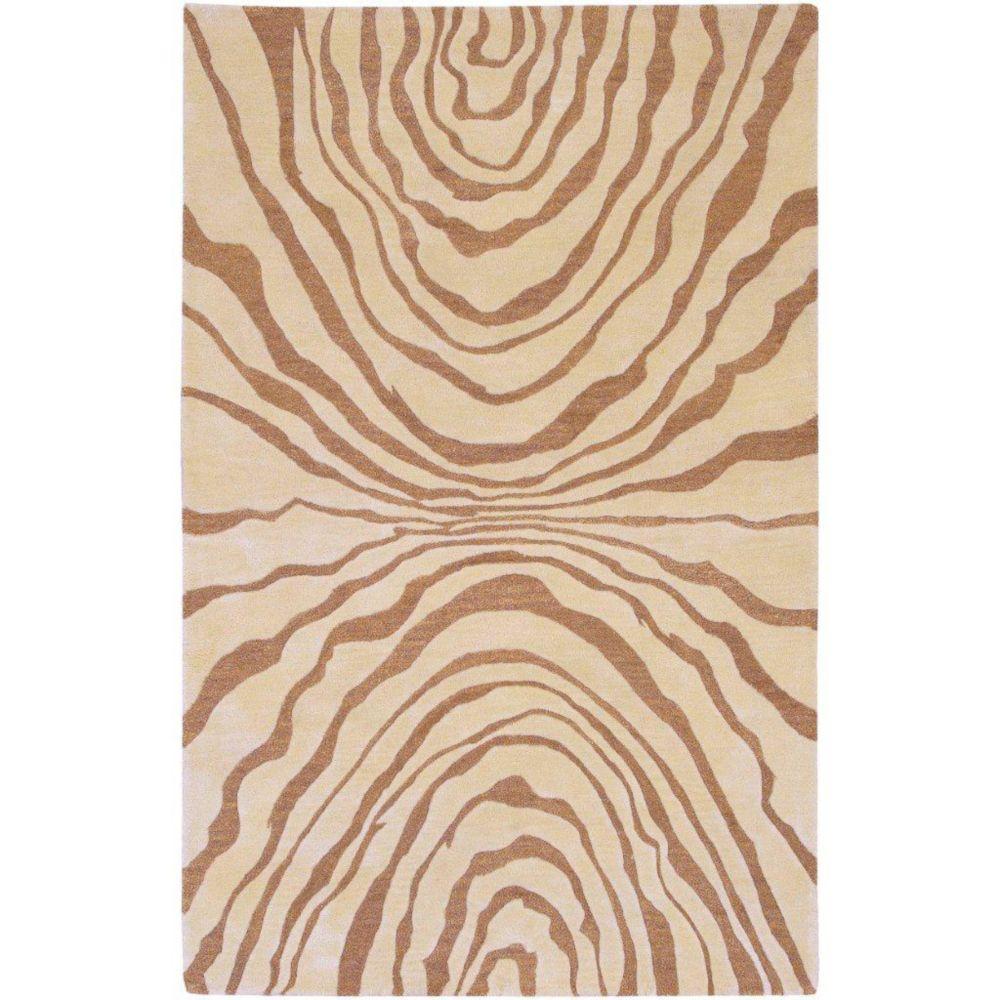 Merritt Beige New Zealand Wool 5 Ft. x 8 Ft. Area Rug
