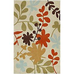 Artistic Weavers Carpette d'intérieur, 8 pi x 11 pi, style transitionnel, rectangulaire, havane Nailloux