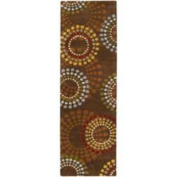 Artistic Weavers Tapis de passage d'intérieur, 3 pi x 12 pi, style contemporain, brun Rantigny
