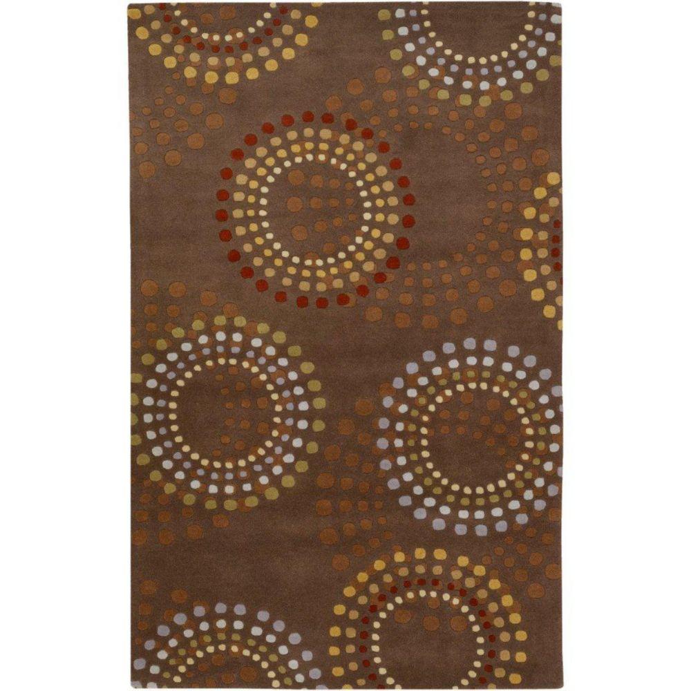 Artistic Weavers Rantigny Brown 8 ft. x 11 ft. Indoor Contemporary Rectangular Area Rug