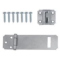 4-1/2 Inch  Zinc Safety Hasp