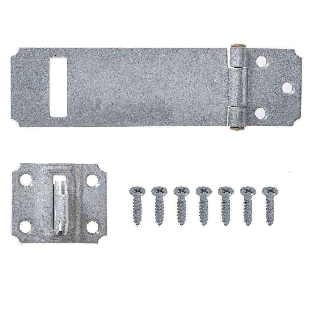 4-1/2 Inch  Galvanized Safety Hasp