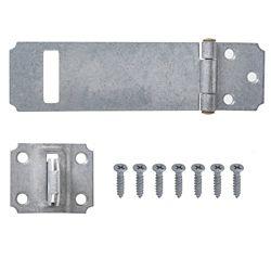 Everbilt 4-1/2-Inch Galvanized Superior Rust Resistant Safety Hasp - 1pk