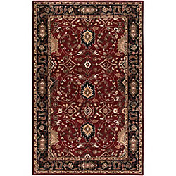 Artistic Weavers Calistoga Red 5 ft. x 8 ft. Indoor Traditional Rectangular Area Rug