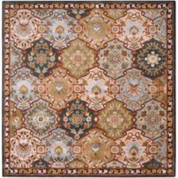 Artistic Weavers Carpette d'intérieur, 9 pi 9 po x 9 pi 9 po, style traditionnel, carrée, bleu Camarillo
