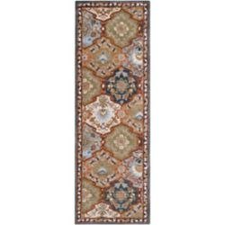 Artistic Weavers Camarillo Blue 2 ft. 6-inch x 8 ft. Indoor Traditional Runner