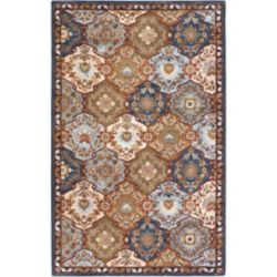 Artistic Weavers Camarillo Blue 6 ft. x 9 ft. Indoor Traditional Rectangular Area Rug