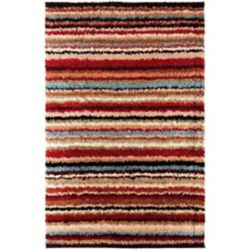 Artistic Weavers Carpette d'intérieur, 7 pi 10 po x 10 pi 10 po, style contemporain, rectangulaire, rouge Naintre